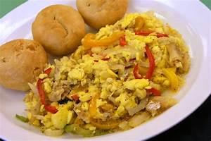 ackee and saltfish | Jamaica | Pinterest
