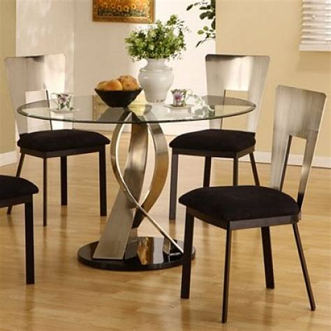 Kitchen Table Sets Glass by Small Glass Kitchen Table Set Home Design And
