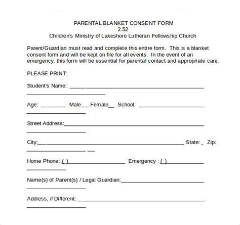 sample child medical consent form