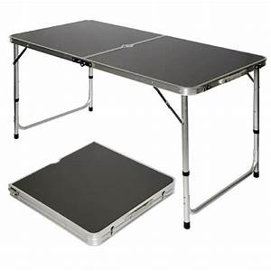 Table De Camping Pliante : amanka table de camping portable pliante en mallette ~ Dailycaller-alerts.com Idées de Décoration