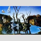 Surrealism Salvador Dali Elephants | 300 x 208 jpeg 27kB