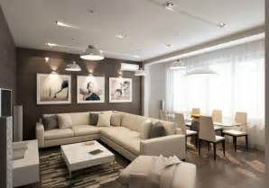 Cream And Brown Living Room Ideas Image