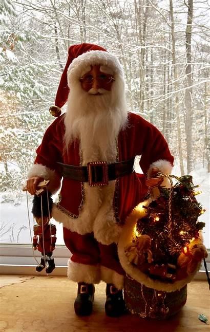Polish Santa Ready Coming Town Pillows Stockings