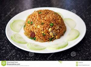 Fried Rice On A Plate Royalty Free Stock Photos - Image ...