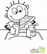 Cafeteria Lunch Coloring Pages Template Zippy sketch template