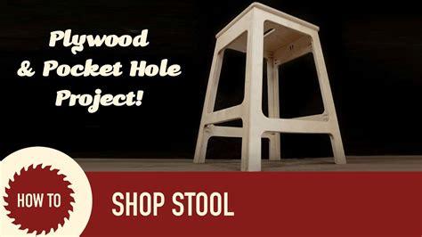 build  stool   plywood youtube