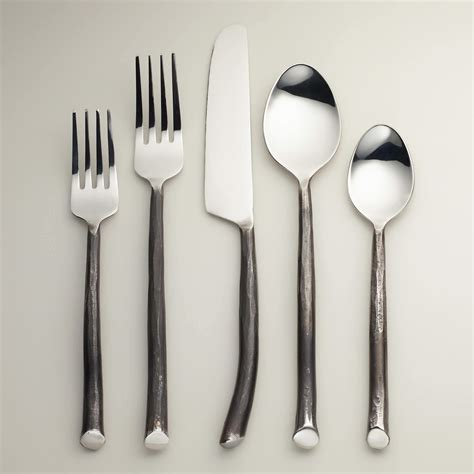 flatware entertaining outdoors twig market credit