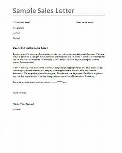 Free Sales Letter Samples | Professional Word Templates