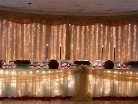 Table Draping - tables wedding and draping on