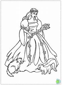 Free coloring pages of barbie swan lake
