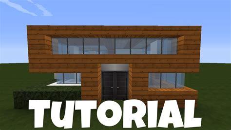 Kleines Haus Bauen by Minecraft Kleines Haus Holz Quarz Bauen Tutorial