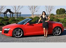 Audi R8 Spyder 2012 Test Drive & Review with Elizabeth