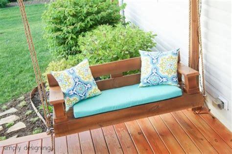 diy yard  garden projects pergola porch swing