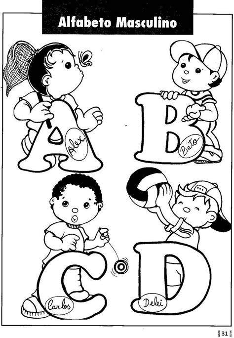 Alfabeto de nombres Abecedario lettering Moldes de