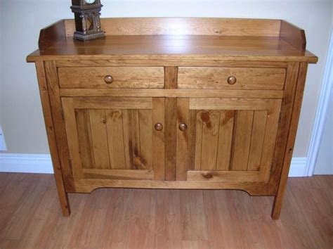Rustic Sideboards Furniture by Rustic Pine 48 Quot Sideboard Solid Wood Mennonite Furniture