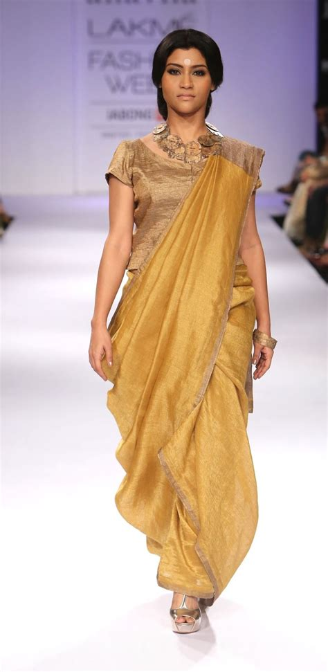 And Gold Sari 1000 images about saree yellow gold on