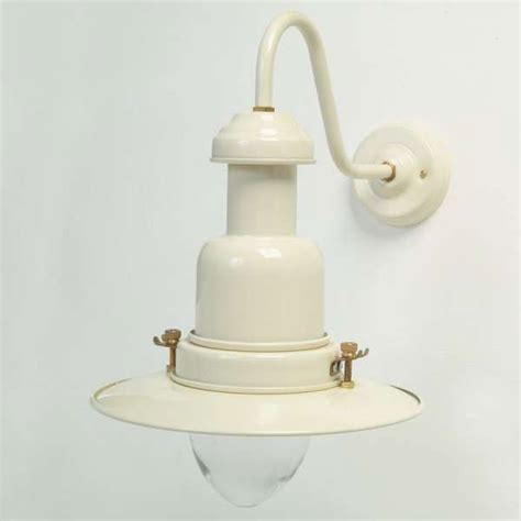 small fishermans outdoor wall light cream broughtons of
