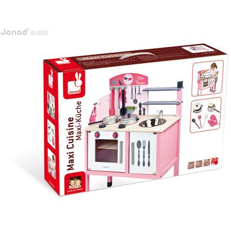 maxi cuisine mademoiselle janod maxi cuisine mademoiselle bois de janod autres jouets d 39 éveil aubert