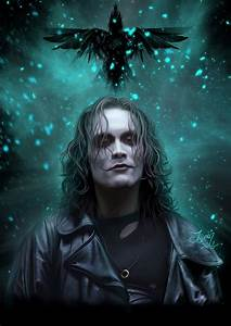 The Crow - Brandon LEE by teomanmete on DeviantArt