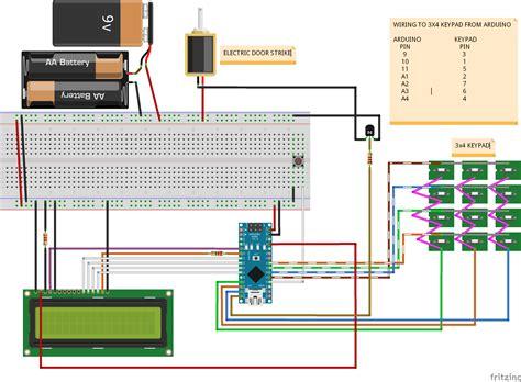 projects keypad entry  caravan  arduino australia