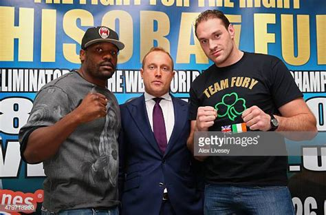 Dereck Chisora And Tyson Fury Press Conference Photos and ...