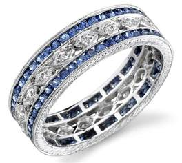 mens sapphire wedding bands and sapphire wedding bands engagement ring unique engagement ring
