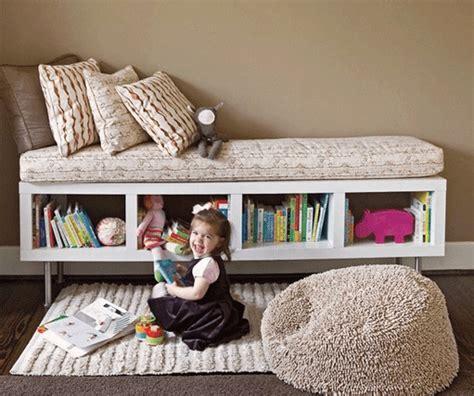 diy using ikea shelf unit as storage bench better homes