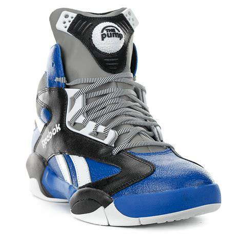 reebok shaq attaq team royal black shoes