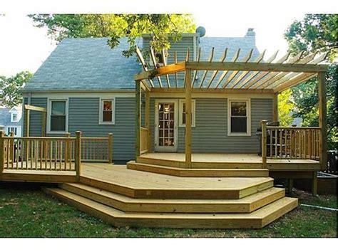 Dude Backyard Level 15 by Multi Level Deck Repinned By Normoe The Backyard