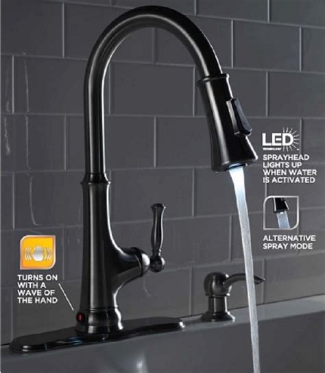how to install glacier bay kitchen faucet glacier bay touchless kitchen faucet reviews