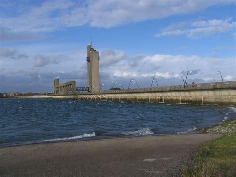 file barrages de l eau d heure barrage de la plate taille jpg wikimedia commons