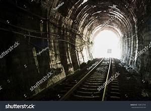 Light End Railroad Tunnel Khuntan Tunnel Stock Photo