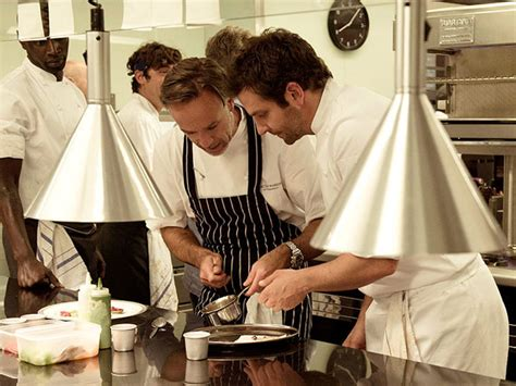 chef consultant cuisine bradley cooper is a great chef says burnt consultant