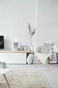 56 idees comment decorer son appartement voyez les With idee deco cuisine avec salon scandinave pas cher
