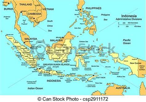 vector illustration  indonesia  administrative