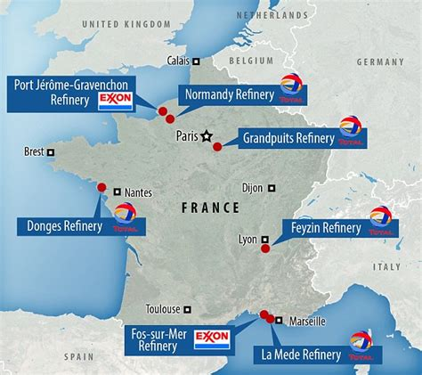 Tourists Stranded In France As Country Is Hit By Fuel