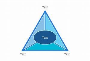 2-level 3d Pyramid Diagram