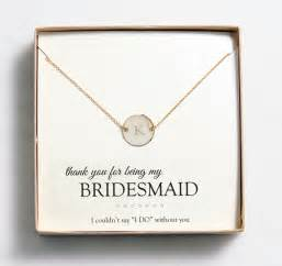 bridesmaid gift ideas bridesmaid gift idea customizable jewelry from wedding outlet intimate weddings small