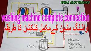Washing Machine Timer Connection Very Simple Guide In Urdu