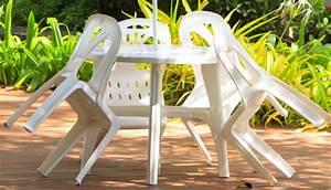Salon De Jardin Plastique : nettoyer meuble jardin plastique tout pratique ~ Teatrodelosmanantiales.com Idées de Décoration