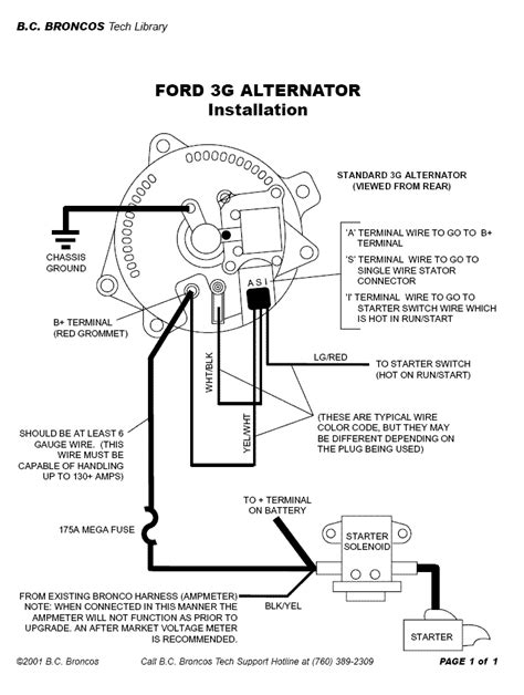 Alternator Not Charging Ford Mustang Forum