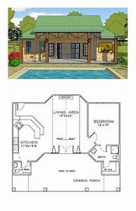 Coastal, House, Plan, 57863