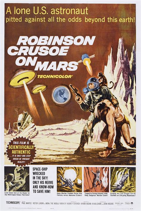 ib melchior dead robinson crusoe  mars screenwriter