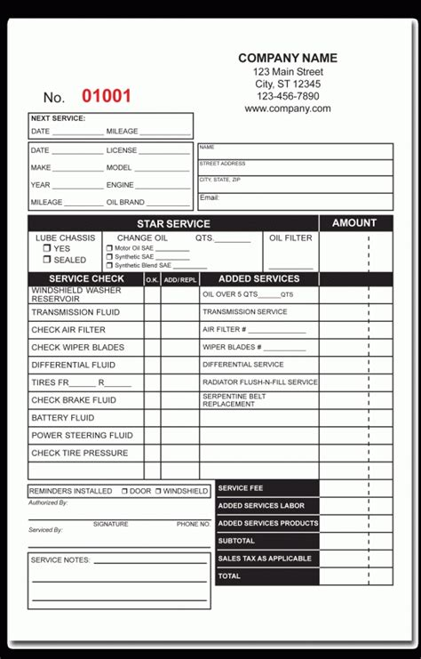 locksmith invoice template  invoice sample template