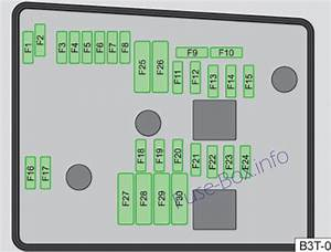 Fuse Box Diagram  U0026gt  Skoda Superb  B6  3t  2008