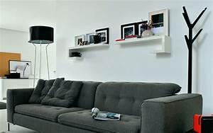 Etagere Murale Salon : deco etagere murale salon luxury deco etagere murale salon la dcoration murale deco maison ~ Teatrodelosmanantiales.com Idées de Décoration