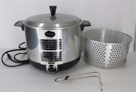 sunbeam fryer deep appliances cooker kitchen appliance usa cf fryers 1966 plus largest kitchens