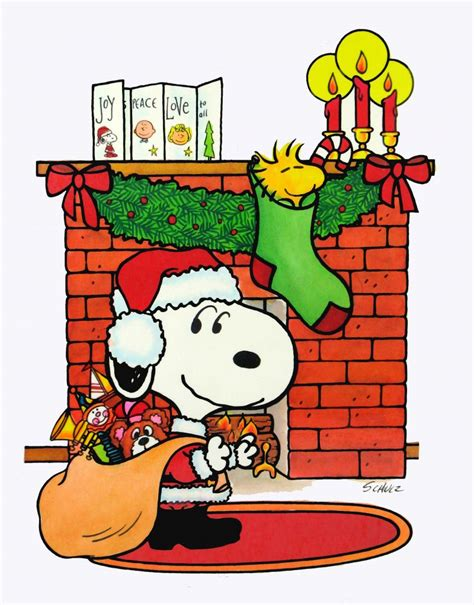 snoopy christmas images laminated snoopy wall decor snoopn4pnuts