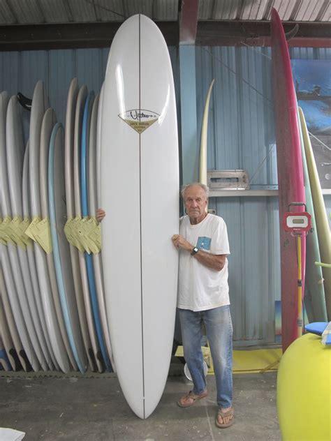 single fin classic yater longboard  californian shaper