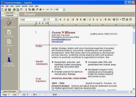 free resume generator learnhowtoloseweight net
